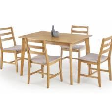 Комплект HALMAR CORDOBA (стол + 4 стула) дуб
