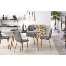 Стол обеденный HALMAR NEXT стекло (дуб медовый)