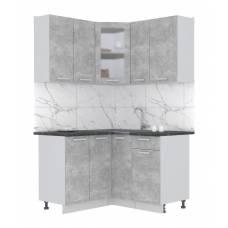 "Кухня угловая ""Мила"" 1,2х1,3 м (бетон - бетон)"