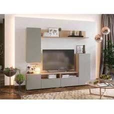 """Мебель для гостиной """"Лия"""" 2,13 м (дуб сонома-графит)"""