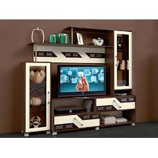 """Мебель для гостиной """"Зодиак"""" 1,9 м (венге-дуб белфорд)"""